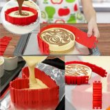 La magie antiadhésive de moule à gâteaux de moulage de gâteau des silicones 4PCS font des outils cuire au four de moulage de traitement au four du serpent DIY