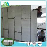 Painel de parede de pouco peso do sanduíche do EPS do cimento da fibra de Zjt para a divisória interior & exterior