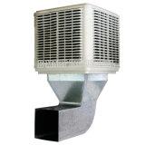 Industrielles Plastikfenster-Wand-Dachspitze-Wasser-Verdampfungsluft-Kühlvorrichtung