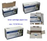 Коробка гофрированной бумага перевозкы груза дешевого слоения цвета цены белого лоснистого складная