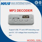 Игрок модуля модуля доски малюсенького голоса M320 5V MP3 расшифровывая тональнозвуковой