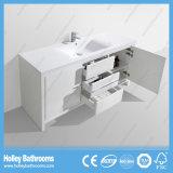Qualitäts-Fußboden - eingehangene 2 Bassin-Badezimmer-Eitelkeit mit 3 Fächern und 2 Türen (BF344D)