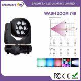 7*40W RGBW LED Movning 맨 위 단계 광선 세척