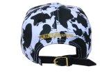 Шлем крышки Snapback Brim 5 панелей изготовленный на заказ крышки флористический плоский