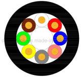 M12 8 de Vrouwelijke Rechte CirkelSchakelaar van de Speld met het Gevormde Vrije Eind van de Kabel