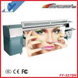 Impressora digital grande de solventes ao ar livre (para baner flex, vinil, ect de visão unidirecional) (Infiniti / challenger FY-3208T)