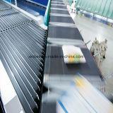 Высшее качество против истирания Pvk черного цвета/PVC/PU материально-технического обеспечения транспортной ленты для продажи