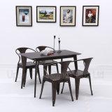 Металл в стиле ретро промышленных стол и стул для кафе (SP-CT765)