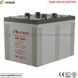 Batteria 2000ah del gel del silicone dell'indicatore luminoso di via di energia solare 2V