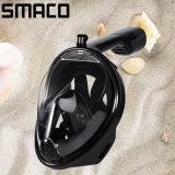 Smaco 2017 Anti-Fog pleine surface haute qualité en silicone Piscine Plongée Masque Tuba