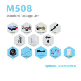 Multi Funktionsauto GPS-Großhandelsverfolger mit RFID Leser M508