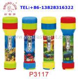 preço de fábrica Sword marca Leão 2*D portátil alimentado por bateria seca lanterna LED Lanterna de plástico para a África