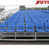 옥외 학교 축구 축구 게임 정면 관람석 분해 가능한 플라스틱은 반대로 UV 스포츠 장비 이용한 Bleachers에 자리를 준다
