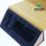 Venta de piel de impresión de regalo caja de empaquetado caliente con estampado en caliente usados para la Promoción y el propósito del regalo