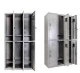 6 de Kasten van de Garderobe van de Opslag van de School van de deur voor Verkoop