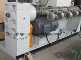 Le plastique contraint d'avance (HDPE) a ridé le matériel d'extrusion de pipe