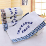Materia textil de encargo de la toalla de mano del algodón de la promoción