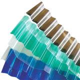 Прозрачный лист крыши PC Lexan ясный используемый Corrugated
