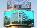 En el exterior en vallas publicitarias de alto brillo LED RGB P10 Mostrar