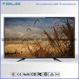 """55 """" volle HD ultra dünne flacher Bildschirm LED Fernsehapparat-Bildschirmanzeige mit neuer Vorlage ein Panel"""