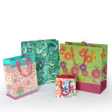 Bolsa de presente de compras de papel de alta qualidade personalizada para venda a quente