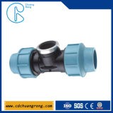 Blue Color Tube PP Tee Fitting for Irrigation