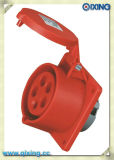 Водоустойчивый AC 110-130V 32A AMP гнезда штепсельной вилки IEC309-2 3p+E промышленный