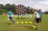 Раздувные волшебные дротики футбола футбола ленты с шариками