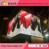 상한 주문 옥외 광고 복각 P10 LED 스크린 또는 영상 벽 또는 게시판