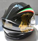 De dubbele Helm van de Motorfiets van het Gezicht van de Veiligheid van Vizieren Volledige met de Norm van de PUNT
