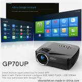 Projecteur réel sans fil de théâtre à la maison du DLP 1080P HD RVB DEL mini