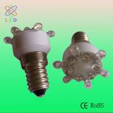 Il prezzo poco costoso per divertimento dell'indicatore luminoso LED del parco di divertimenti del LED E10 E14 guida le lampade