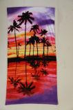 フルカラーの反応印刷されたビーチタオル、100%年の綿中国Munufacture
