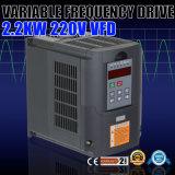 2.2kw 220V 3HP 10A variabler Frequenz-Laufwerk-Inverter VFD
