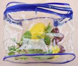 Costomizedジッパーが付いている明確なPPのプラスチック美袋