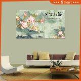 Todos os rios funcionam no mar que pinta de cartão ondulado impermeável para a pintura a óleo da decoração da sala de visitas