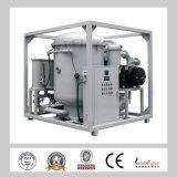 Zja alto rendimiento de doble etapa de alto vacío transformador de purificación de aceite de la máquina / transformador de la planta de regeneración de aceite