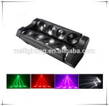 Свет луча света 8*10W White/RGBW 4in1 Multi-Color СИД спайдера DJ диско черный