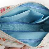 영국 작풍 방수 PVC 꽃 패턴 화포 숙녀 부대 (23229)