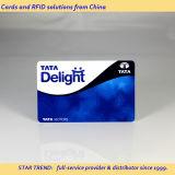 Formato de cartão de crédito cartões de tarja magnética para cartão de plástico de PVC