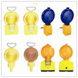 Barreira de Segurança Portátil Solar LED Traffic Road Safety Warning Light