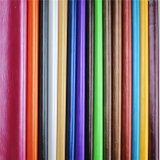 Cera de aceite de calidad sorprendente PU PVC cuero sintético para sofá (898#)