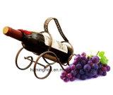Elegante Magic Metal Beer Wine Bottle Holder com fio preto
