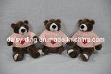 Ours de nounours mol de peluche avec le chandail