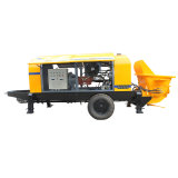 Bomba concreta portátil Diesel da manufatura Hbt80.16.174RS da polia