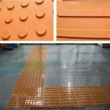 Mat van de Vloer van de metro de Rubber voor Blinde Sporen
