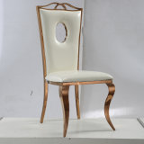 結婚披露宴のための贅沢なModrenの一流のステンレス鋼フレームの椅子か宴会またはレストラン