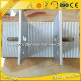 La fuente de la fábrica modificó el corte de aluminio anodizado tubo del perfil para requisitos particulares T6 del aluminio 6063 de la dimensión de una variable