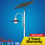 Indicatore luminoso solare esterno freddo del giardino di bianco 4m 15W LED di alto potere