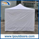 [10إكس10'] بيضاء [بفك] يفرقع خارجيّة يطوي ظلة فوق خيمة لأنّ عمليّة بيع